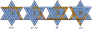 Dalet-Gimmel-Bet-Aleph